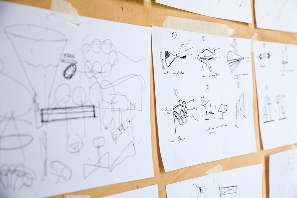 sketch pen on paper