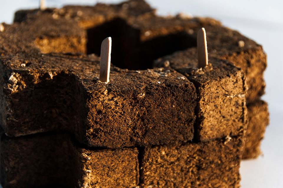 brick assembled